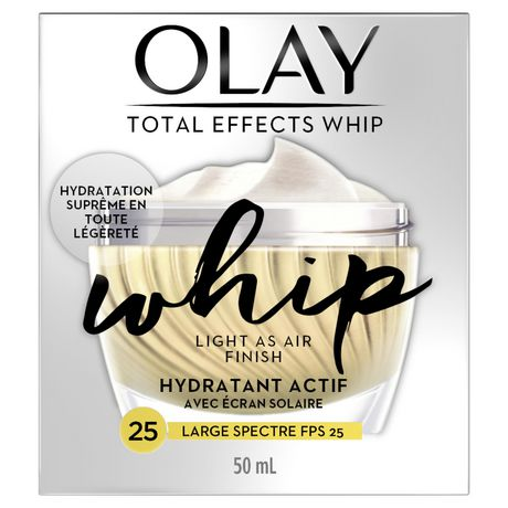 Olay Total Effects Whip Face Moisturizer Spf 25, - image 1 of 5