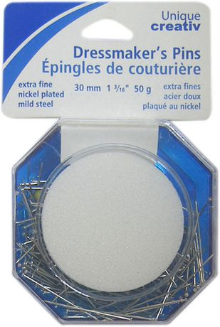 Unique Creativ Dressmaker Pins - X-Fine - image 2 of 2