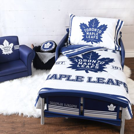 newest cf41f 31d09 NHL Toddler Bedding Set- Toronto Maple Leafs