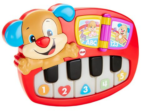 fisher price rires et veil coffret de jeu le piano de. Black Bedroom Furniture Sets. Home Design Ideas