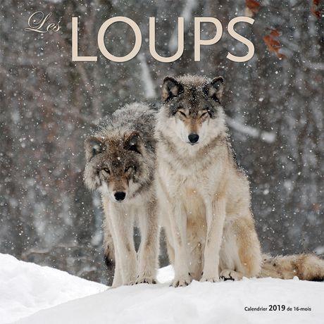 2019 Les Loups Calendrier - image 1 de 3