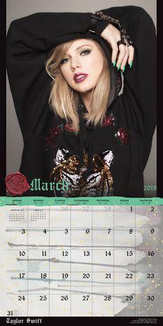 2019 Taylor Swift Calendar - image 3 of 3