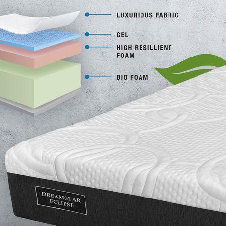 dream star bedding eclipse bed in a box mattress - Mattress In A Box