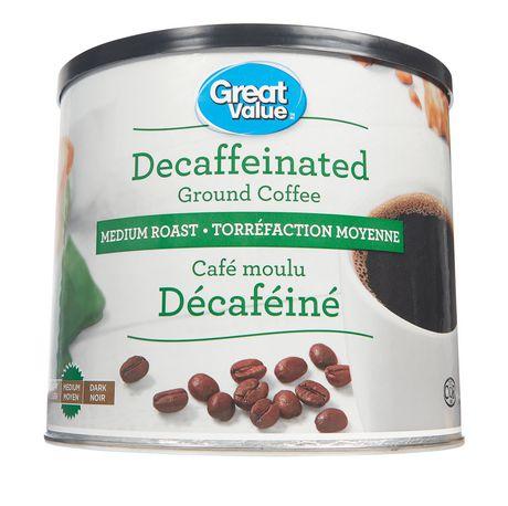 Great Value Medium Roast Decaffeinated Ground Coffee - image 1 of 1