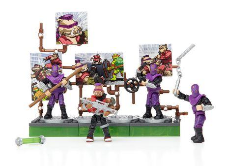 Ensemble de jeu les tortues ninja de mega bloks coffret - Mechant tortue ninja ...