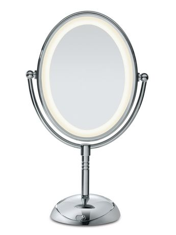 mirror. Conair Reflections LED Lighted Collection Mirror