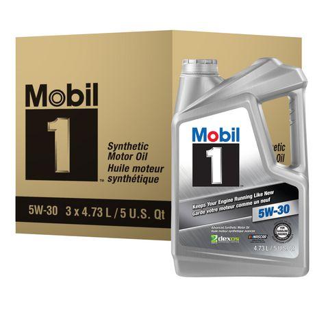 Mobil 1™ 5W-30 4,73L - Boîte - image 1 de 1