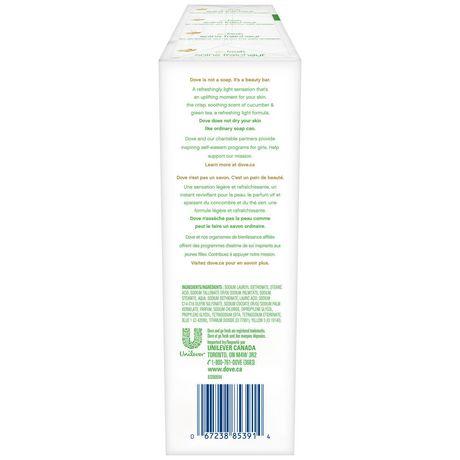 Dove Go Fresh Cool Moisture Beauty Bar 8x90g - image 3 of 8