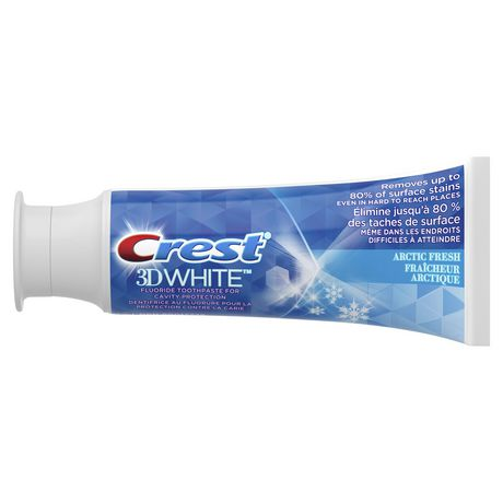 Crest 3D White, Whitening Toothpaste Arctic Fresh - image 2 of 8
