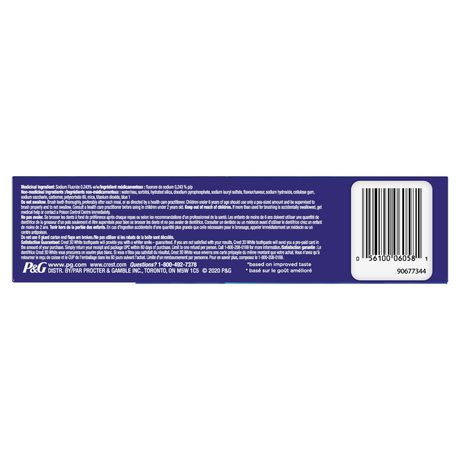 Crest 3D White, Whitening Toothpaste Arctic Fresh - image 3 of 8