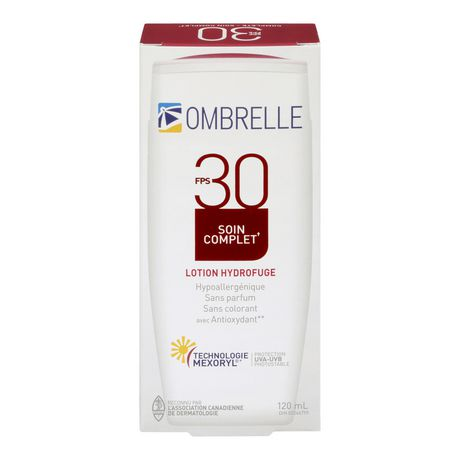Garnier L'oreal Ombrelle Fragrance-Free Complete Water Repellent Lotion - Spf 30 - image 2 of 2