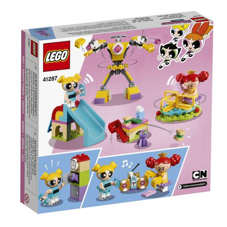 2018! 41287 LEGO The Powerpuff Girls Bubbles/' Playground Showdown 144 Pcs Age 6
