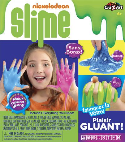cra z art nickelodeon slime kit medium kit walmart canada. Black Bedroom Furniture Sets. Home Design Ideas