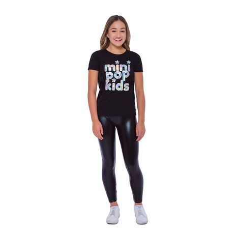 Girls Mini Pop Kids Glam World Leggings - image 1 of 7