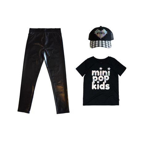 Girls Mini Pop Kids Glam World Leggings - image 7 of 7