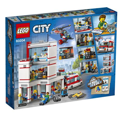 LEGO City Hospital 60204 Building Kit (861 Piece) - image 6 of 6