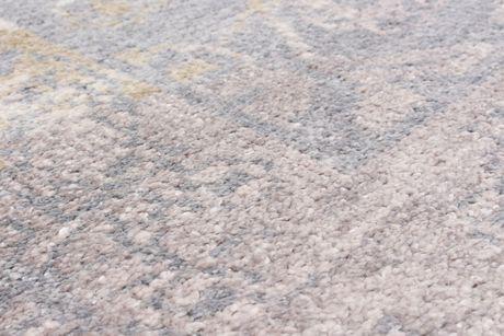 """Tapis Monterey Soie gris noué main 5'0 """"x 8'0"""" - image 3 de 3"""