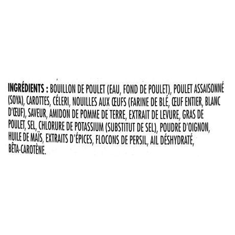 Poulet et nouilles légère teneur réduite en calories de Campbell's - image 3 de 4