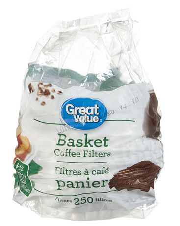 Great Value Basket Coffee Filters - image 1 of 1