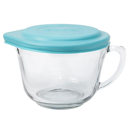 Anchor Hocking 2 qt Glass Batter Bowl with Lid - image 1 of 1