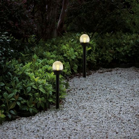 Mainstays 8 Pack Mini Crackle Pathway Solar Light - image 2 of 2