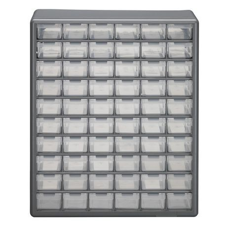 Stack On 60 Bin Plastic Drawer Cabinet Walmart Canada