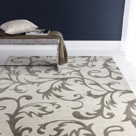 Hometrends Florentine Polypropylene Rectangle Area Rug