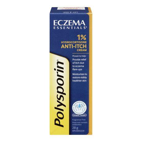 Polysporin Eczema 1% Anti-Itch Cream 28g