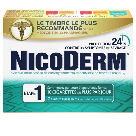 Nicoderm Clear Step 1 Patches, Nicotine Transdermal Patch, 21mg/day - image 2 of 8