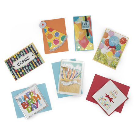 Hallmark All Occasion Handmade Boxed Assorted Greeting ...