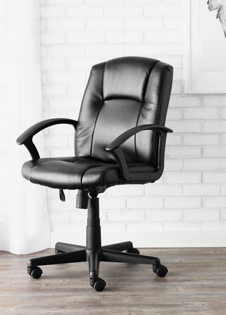Office Chairs Walmart >> Mainstays Midback Chair