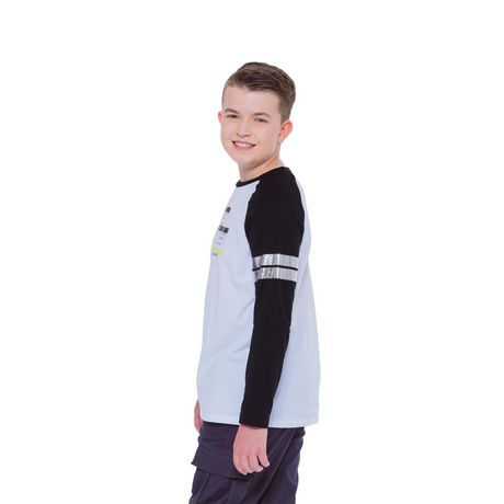 Boy's Mini Pop Kids Future Is Now Long Sleeve T-Shirt - image 3 of 7