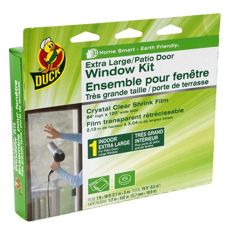Duck Brand Duck Brand 84 In X 120 In Extra Largepatio Door