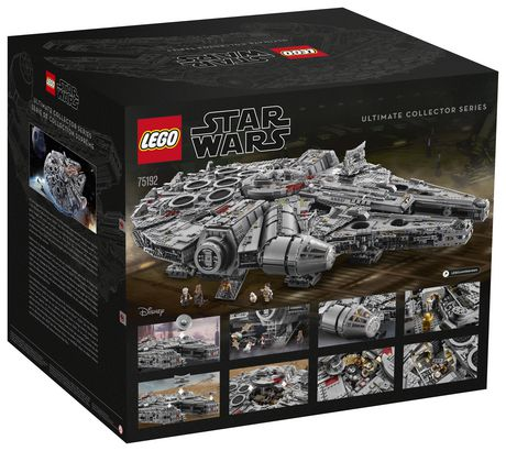 LEGO Star Wars Millennium Falcon 75192 Toy Building Kit (7541 Pieces) - image 6 of 6