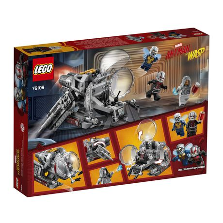 LEGO Marvel Super Heroes Ant-Man and the Wasp movie: Quantum Realm Explorers 76109 Building Kit (200 Piece) - image 6 of 6
