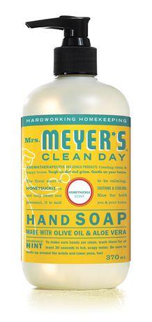 Mrs. Meyer's® Clean Day Savons pour les mains - Parfum de Chèvrefeuille - image 1 de 5