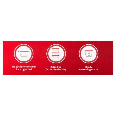 Rubbermaid TakeAlongs Food Storage Container, Deep Squares, 5.2 Cup - image 5 of 7