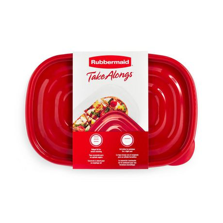 Rubbermaid TakeAlongs Food Storage Container, Rectangles - image 4 of 8