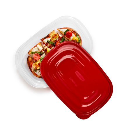 Rubbermaid TakeAlongs Food Storage Container, Rectangles - image 3 of 8