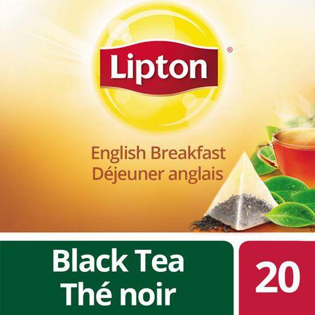 Lipton 174 English Breakfast Black Tea Bags Walmart Canada