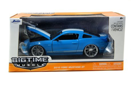 Jada Toys Cast Big Time Muscle  Ford Mustang Gt