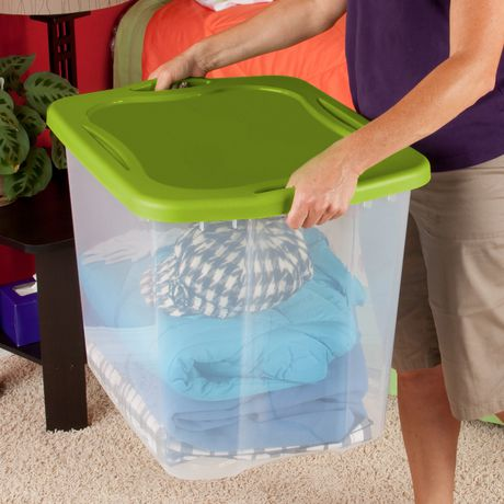 Sterilite 90L Spicy Lime Easy Carry Storage Box - image 2 of 2