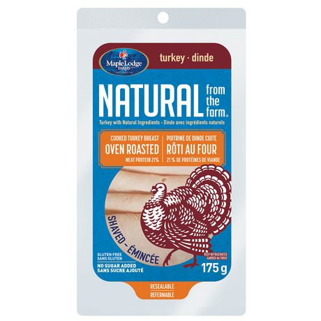 Natural From The Farm® Oven Roasted Cooked Turkey Breast Deli - image 1 of 4