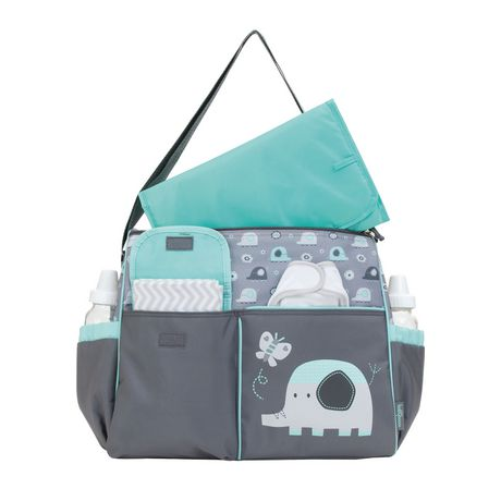 Baby Boom Elephant Duffle Diaper Bag - image 2 of 3