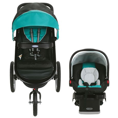 Graco Fastaction Fold Jogger Click Connect Travel System Tropic