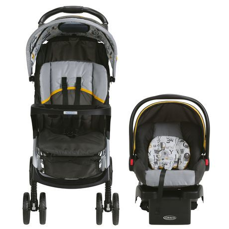 Graco 174 Literider 174 Lx Travel System With Snugride 174 Click Connect 30 Infant Car Seat Abc