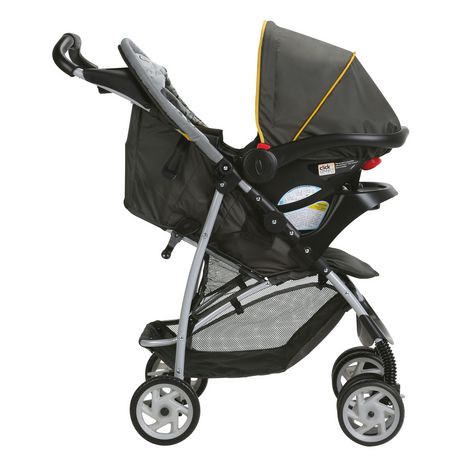 Graco 174 Literider 174 Lx Travel System With Snugride 174 Click