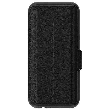 buy popular 69928 94036 OtterBox Strada Folio Case for Galaxy S8+ Onyx