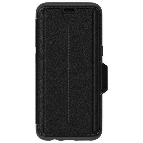 wholesale dealer 66f41 9ce72 OtterBox Strada Folio Case for Galaxy S8 Onyx