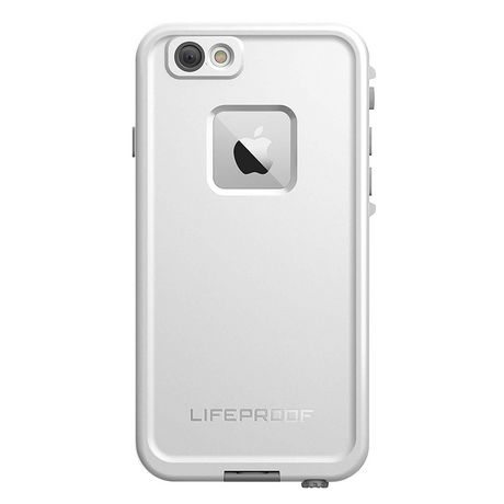 on sale e40a9 abeec Otterbox LifeProof Fre Series Waterproof Case iPhone 6 Plus, 6s Plus,  White/Grey